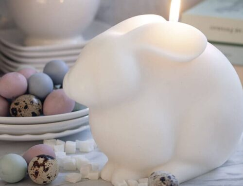 La vela de Pascua con la que querrás decorar tu casa es de Cerabella