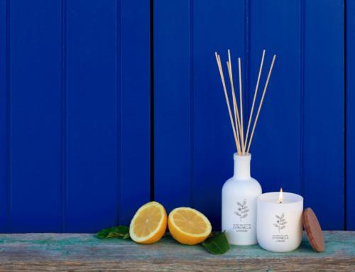 Citronela, el perfume estrella de verano para velas